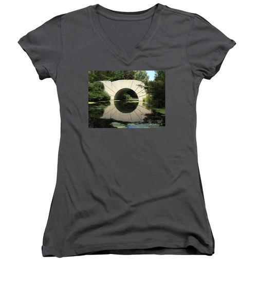 Sunshine Bridge 4 Women's V-Neck T-Shirt