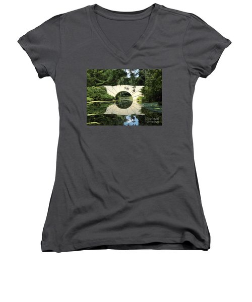 Sunshine Bridge 7 Women's V-Neck T-Shirt