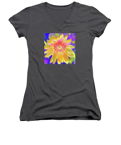 Sunsweet Women's V-Neck