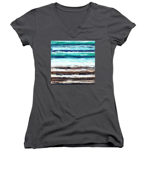 Surf And Turf Women's V-Neck