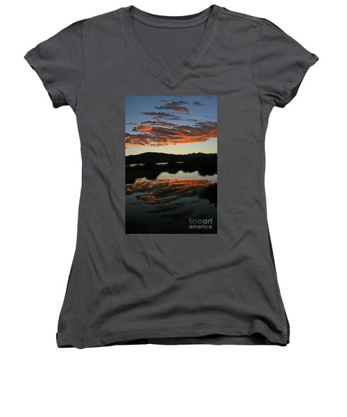 Surreal Sunrise Women's V-Neck