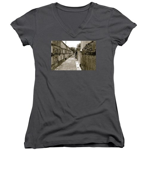 Surrounded By Loss Women's V-Neck (Athletic Fit)