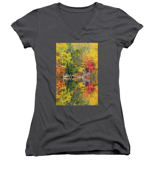 Surrounded Women's V-Neck T-Shirt