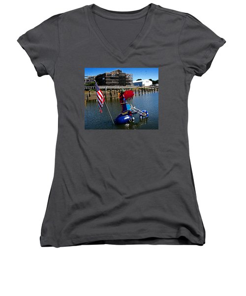 Susie Is A Lady -  Harbor Guardian Women's V-Neck