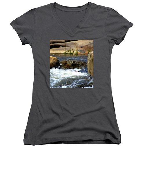 Swallowed Alive Women's V-Neck T-Shirt