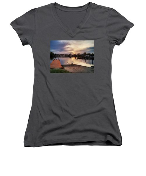 Swans Of Chink Creek Women's V-Neck