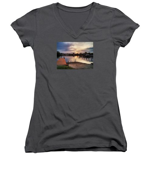 Swans Of Chink Creek Women's V-Neck T-Shirt