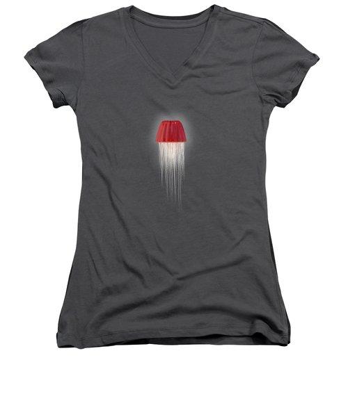 Sweet Death Women's V-Neck T-Shirt (Junior Cut) by Nicholas Ely