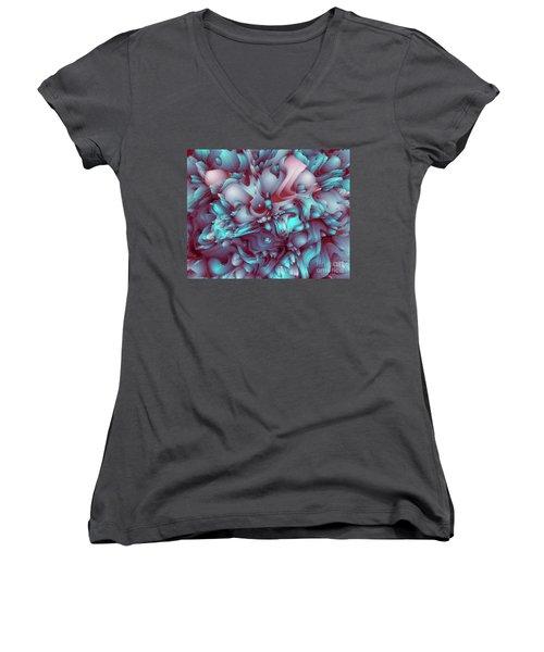 Sweet Flowers Women's V-Neck T-Shirt