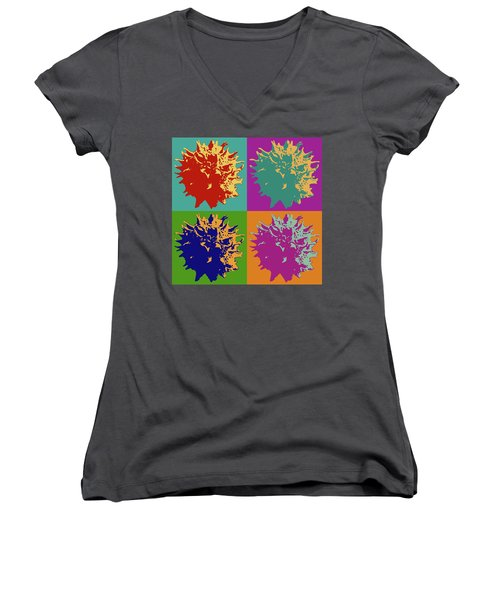 Sweet Gum Balls Women's V-Neck