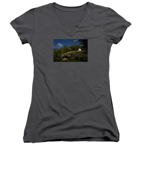 Sweet Little Church Women's V-Neck