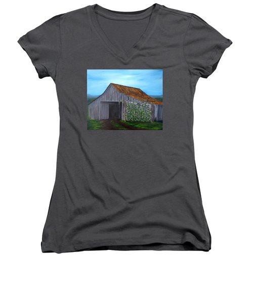 Sweet Peas Women's V-Neck T-Shirt