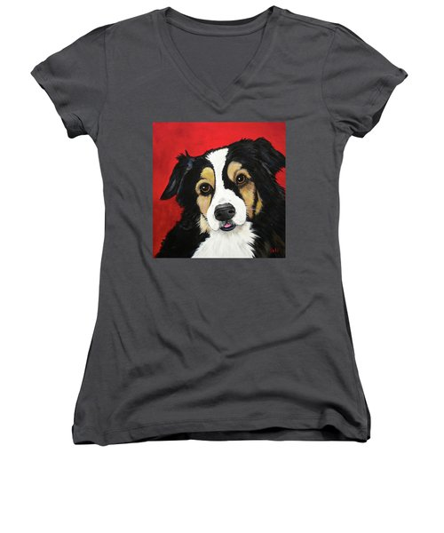 Sweet Scout Women's V-Neck (Athletic Fit)