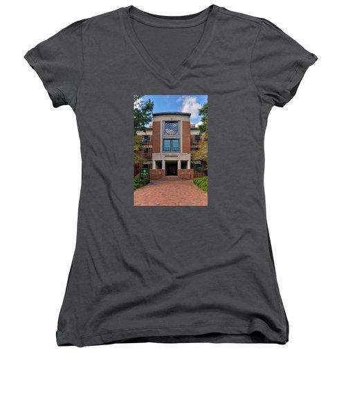 Swem Library Women's V-Neck