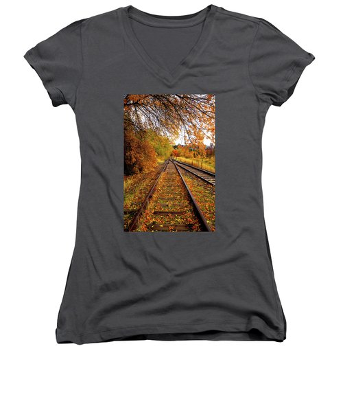 Switching To Autumn Women's V-Neck