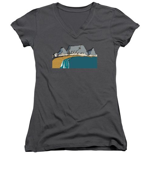Table Mountain Women's V-Neck (Athletic Fit)