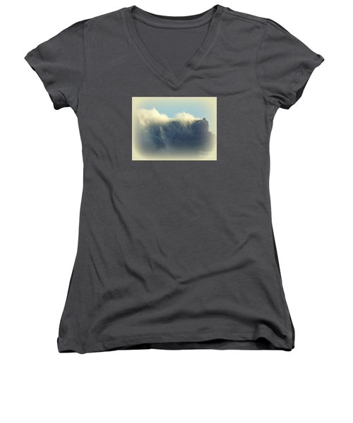 Table Rock With Cloud 2 Women's V-Neck T-Shirt