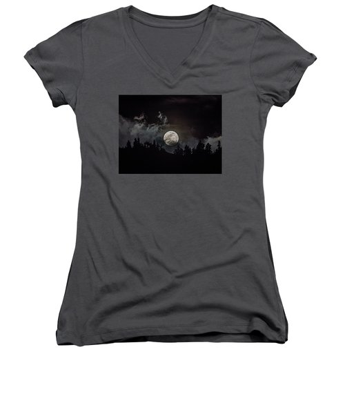 Tahoe Moon Cloud Women's V-Neck