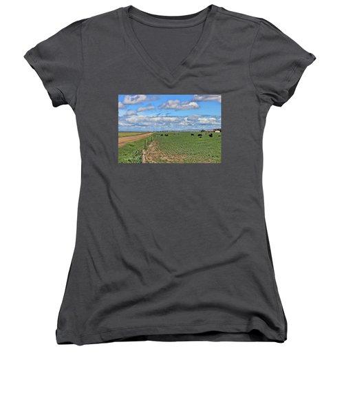 Take Me Home Country Roads Women's V-Neck T-Shirt