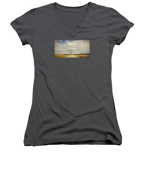 Take Me Home Women's V-Neck (Athletic Fit)