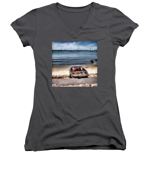Take Me Out Women's V-Neck