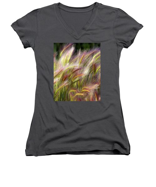 Tall Grass Women's V-Neck T-Shirt