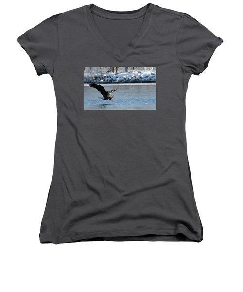 Talons Out Women's V-Neck T-Shirt