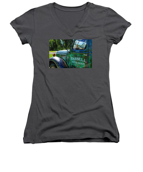 Tassell Women's V-Neck T-Shirt (Junior Cut)
