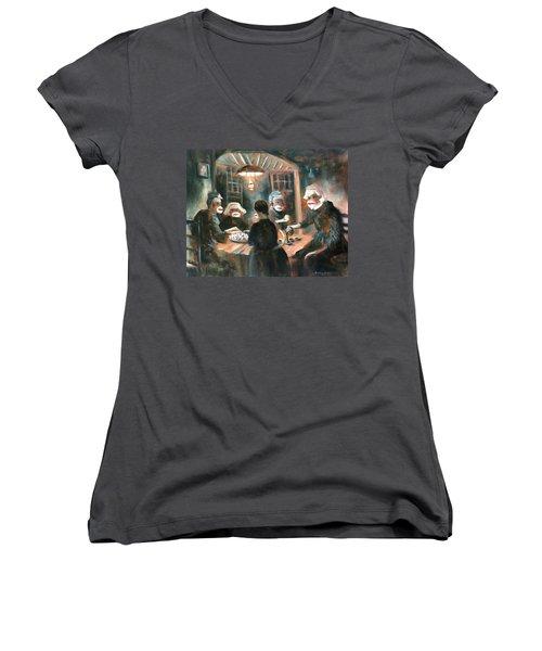 Tater Eaters Women's V-Neck T-Shirt