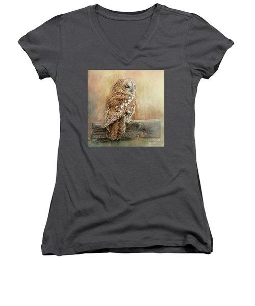 Tawny Owl Women's V-Neck