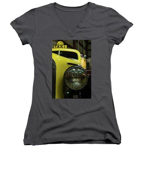 Taxi Women's V-Neck