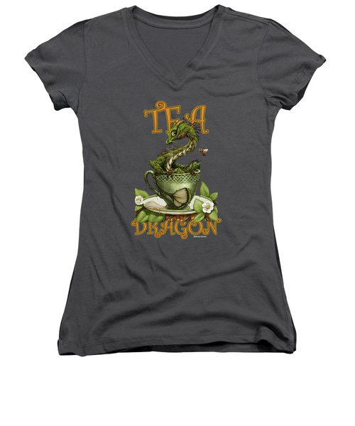 Tea Dragon Women's V-Neck