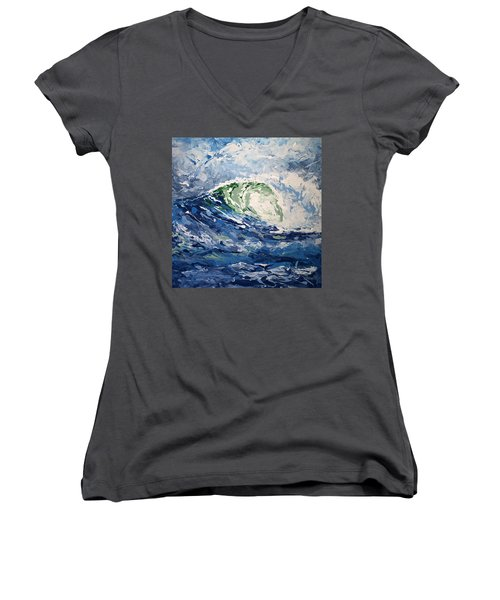 Tempest Abstract Women's V-Neck