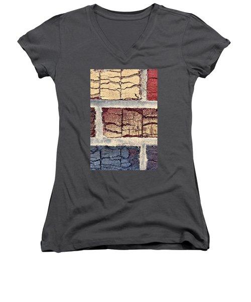 Tender Bricks Women's V-Neck