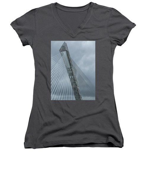 Terenez Bridge IIi Women's V-Neck T-Shirt