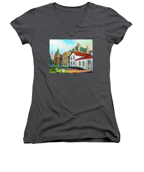 Terrace Villas Women's V-Neck T-Shirt