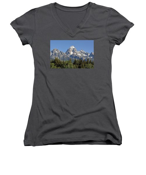 Teton Grande Women's V-Neck T-Shirt