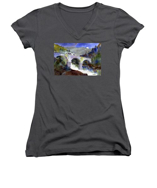 Tevis Crossing 3am Women's V-Neck