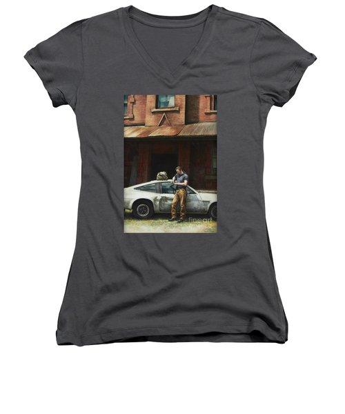 That Fleeting Moment Captured Women's V-Neck T-Shirt