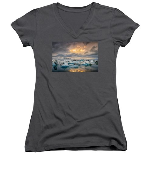 The Afternoon Has Gently Passed Me By Women's V-Neck