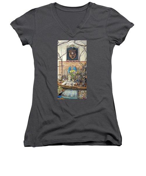 The Altar Women's V-Neck T-Shirt