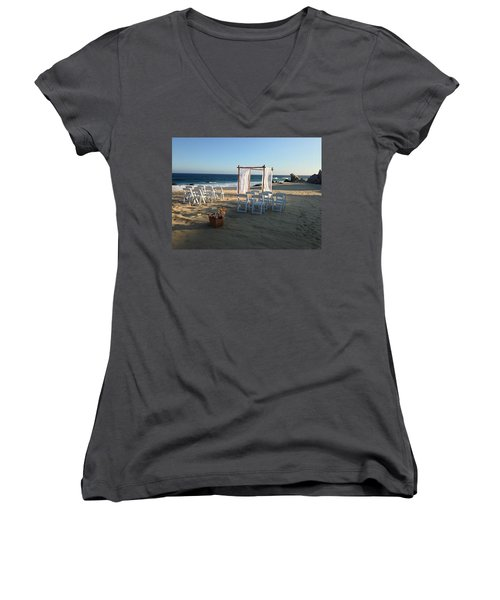 The Alter By The Sea Women's V-Neck