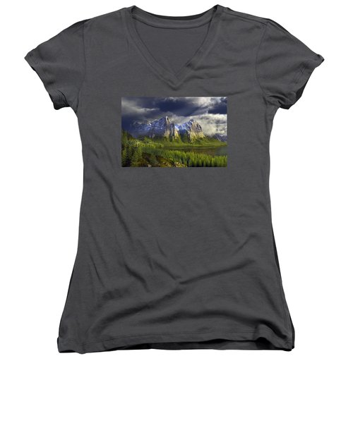 The Anvils Of Thor Women's V-Neck