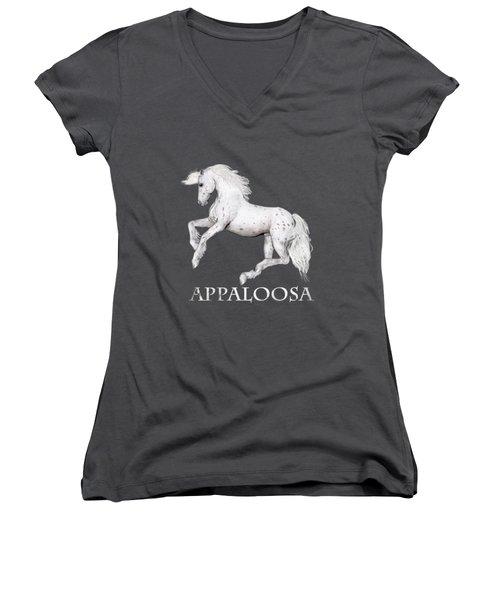The Appaloosa Women's V-Neck T-Shirt