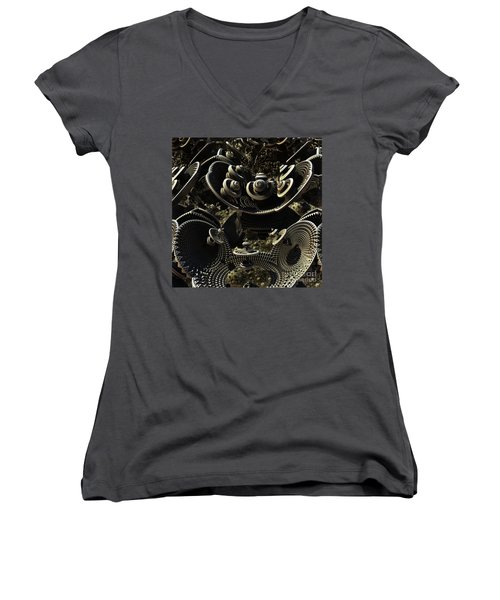 The Array Women's V-Neck (Athletic Fit)