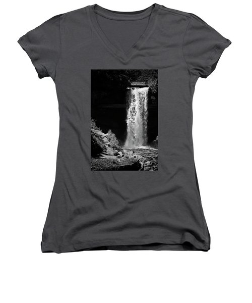 The Artifice Of Control Women's V-Neck (Athletic Fit)