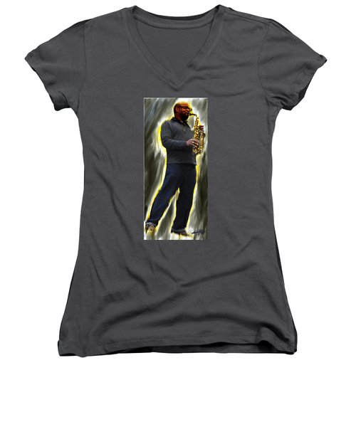 The Artist's Other Women's V-Neck (Athletic Fit)