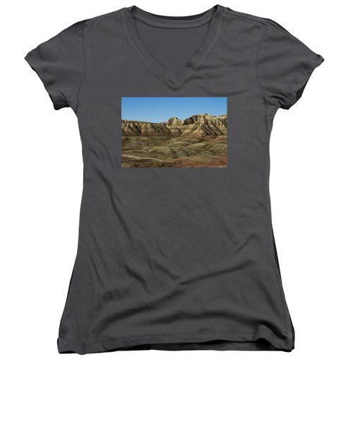 The Bad Lands Women's V-Neck (Athletic Fit)