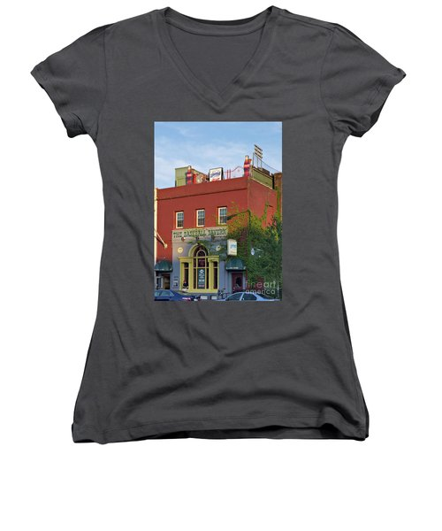 The Baseball Tavern Boston Massachusetts  -30948 Women's V-Neck