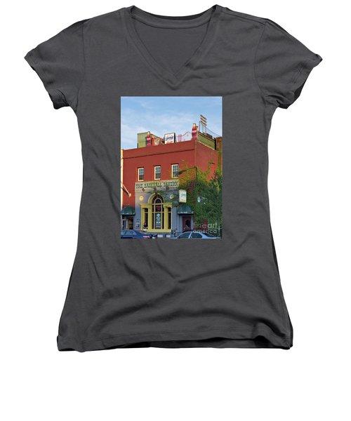 The Baseball Tavern Boston Massachusetts  -30948 Women's V-Neck